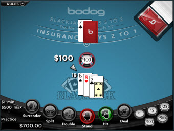 Blackjack Game for Macs