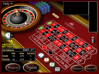 American Roulette game for Mac