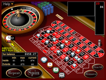 European Roulette game for Mac